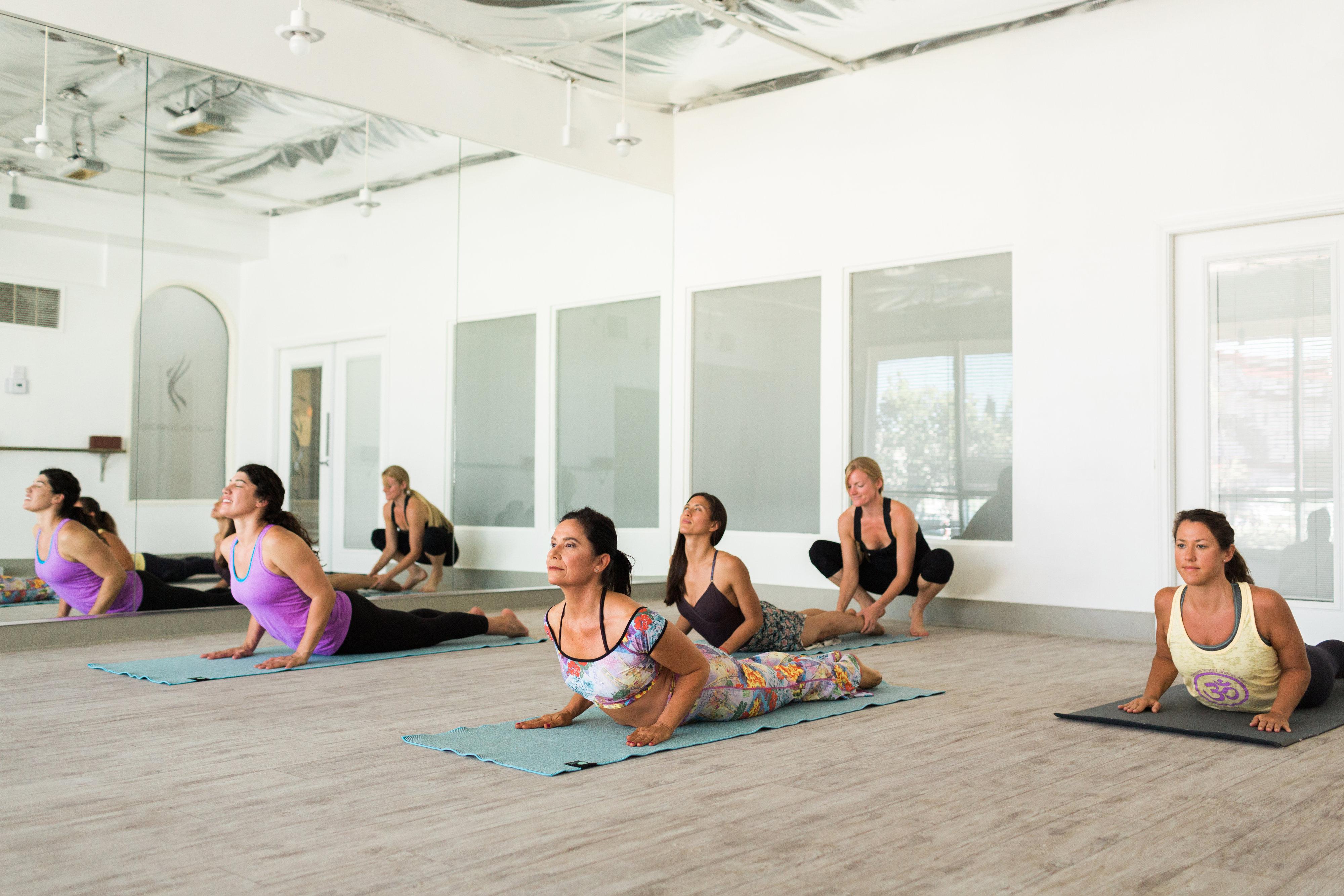 hot + soul yoga coronado
